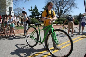 Bike to Campus @Teri Saylor