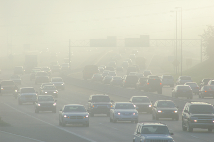 Air pollution by cars - 2020 Net