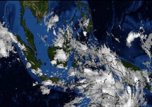 Foto Citra Satelit Citra Satelit Cuaca Indonesia