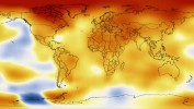Global temperatures anomalies - NASA Goddard's Scientific Visualization Studio