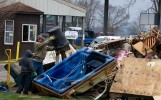 Residents clean up after flooding in Missouri - Andrea Booher