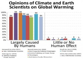 Climate science opinion -  Doran & Zimmerman Study
