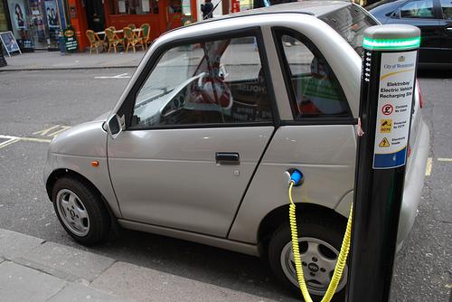 Electric car charging - Alan Trotter