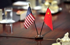 US and China Flags - United States Department of Defense