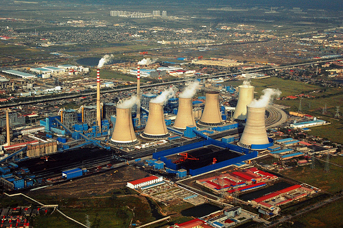 Coal power plant in Tianjin, China - Shubert Ciencia