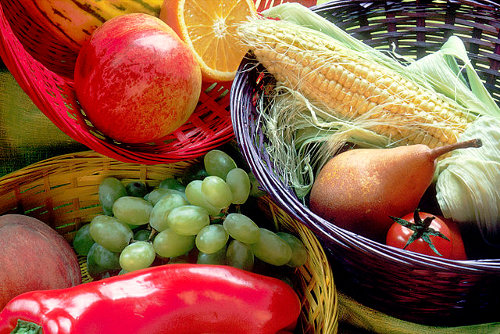 Fruit and Vegetables Basket - Wikimedia Commons