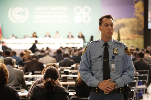Cop 19 Security - COP19