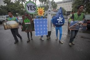 Indonesia Anti Coal Protest
