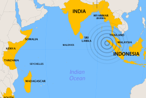 2004 Indian Ocean earthquake affected countries - Wikimedia Commons