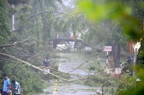 Roadway destruction in Visakhapatnam - Indian Navy