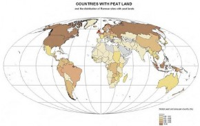 Countries with peat land - Wetland International - Wikimedia Commons