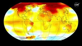 Record breaking temperature 2016 - NASA