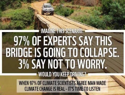 Analogi Jembatan Rusak Perubahan Iklim