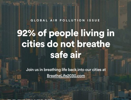 92% Warga Kota Hirup Udara Kotor