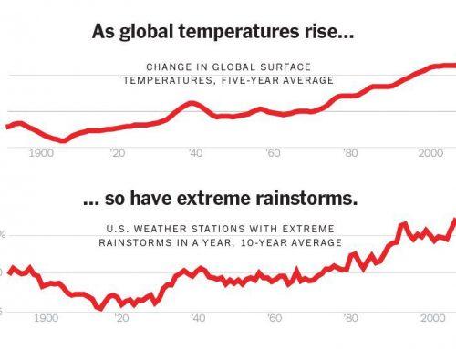 Suhu Bumi Naik Badai Ekstrem Bertambah