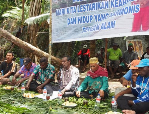 Sasi Nggama, Budaya Konservasi Laut Unik dari Kaimana