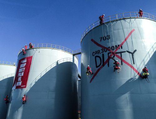 Greenpeace OccupiesWilmar's Dirty Refinery
