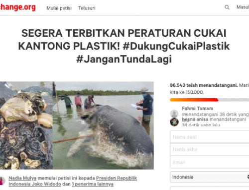 Petisi #CukaiPlastik Didukung 85 Ribu Orang
