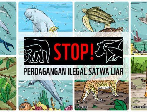 Stop Perdagangan Satwa Dilindungi, Amankan Keberlanjutan Pangan
